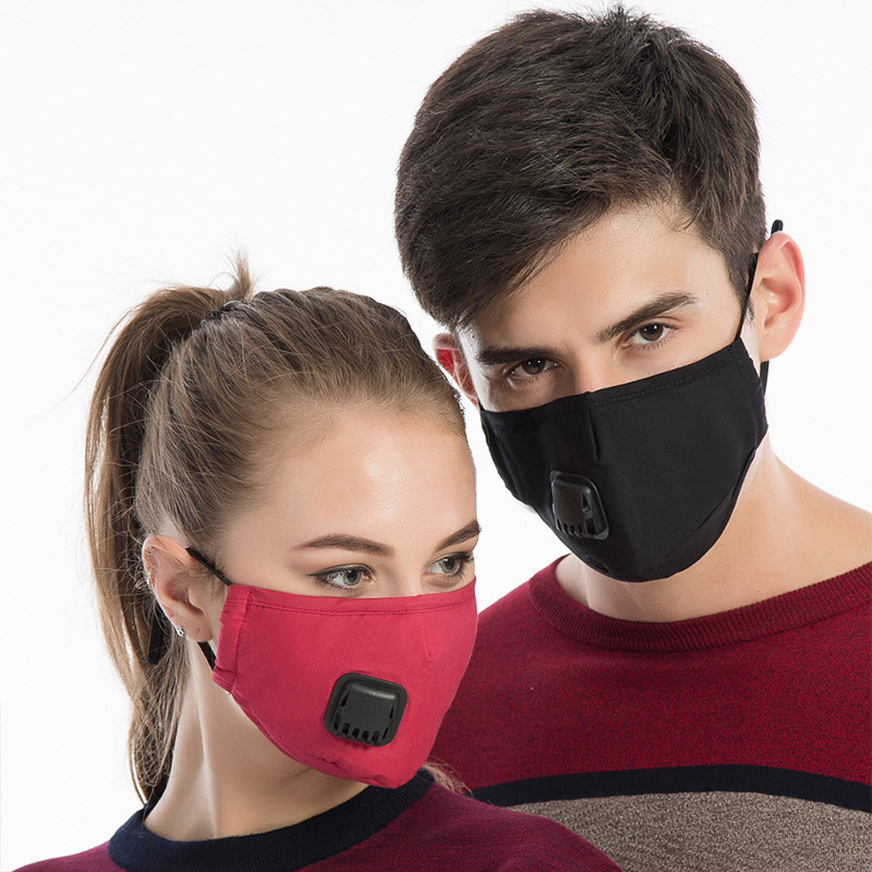 1 Pcs Mouth Face Mask Cotton Dustproof Breathable PM2.5 For Outdoor Cycling Winter IK88