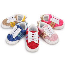 2017 Spring and Autumn New mesh baby sports shoes mesh baby step shoes  L190