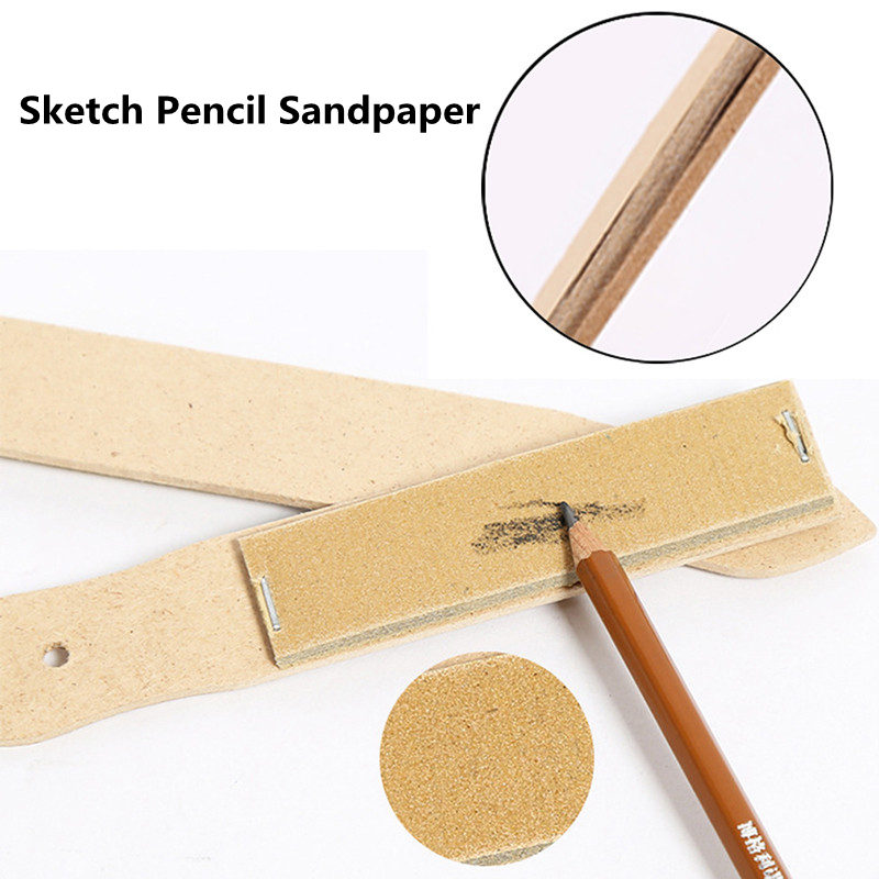 New Arrival Fashion Art Painting Sandpaper Block For Pencil Sharpening Sketch Sandpaper Pencil Pointer Drawing Tool