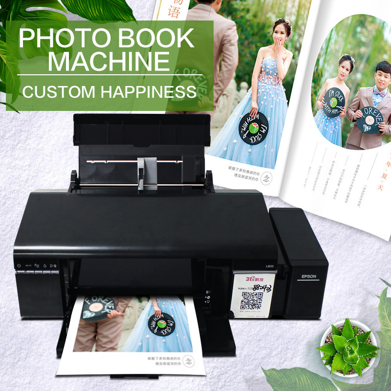 Photo Book Custom Machine Baby Growth Album Making Equipment Diy Personalized  Multifunction Device  Photo Color Ink Printer