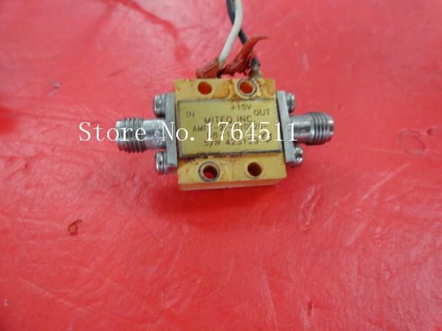 [BELLA] MITEQ AMFK-2F-010020-08-10P-L 1-2GHz 15V SMA Amplifier Supply