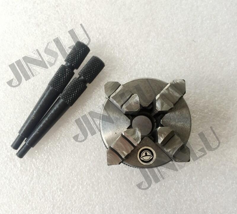 High quality Mini lathe chuck K02-65 M14*1 self-centering chuck 4 jaws chuck