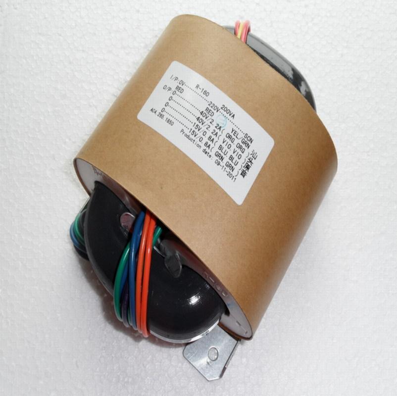 R Core Transformer copper custom transformer 220VAC 380VA 2*24AC 7.5A+2*12V 0.8A with shield output for Power amplifier r core transformer custom transformer 0 100v 0 100vac 30va 2 15ac 0 a 2 9v 0 8a with copper shield output for power amplifier