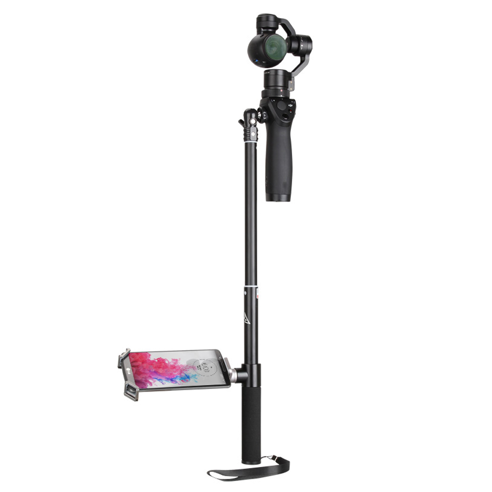 DJI OSMO Extension Pole Rod Scalable Extension Stick for DJI Osmo &DJI Osmo &DJI + OSMO Mobile Handheld Gimbal Accessories