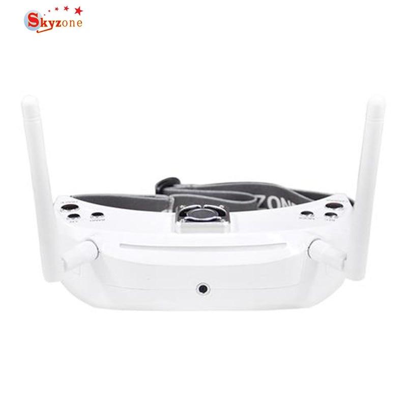 Original Skyzone SKY03 3D 5.8G 48CH Diversity Receiver FPV Goggles with Head Tracker Front Camera DVR HD Port skyzone sj h01 960 1080 2d 3d fpv goggles