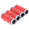4pcs Oil Filter Cleaner For KTM  SMR EXC XC-F 250 300 400 450 530 Dirt Bike Off Road Motocross Endure
