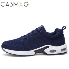 CASMAG New Design Men and Women Air Cusion Running Shoes Outdoor Walking Breathable Lightweight Sneakers Jogging Shoes