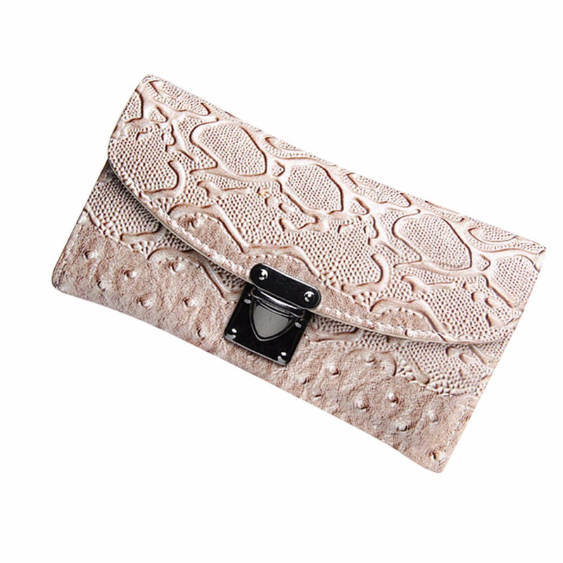 New Arrival Women Wallet Simpl Womens Crocodile PU Leather Clutch Coin Purse Ladies Long Wallet Card Holders Handbag Bag