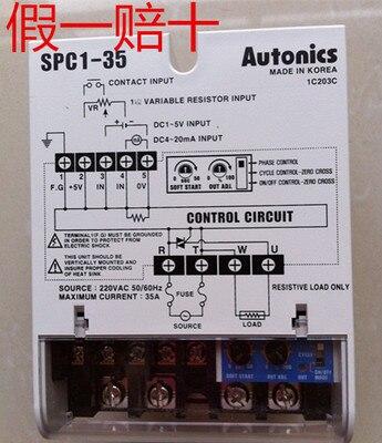 genuine power controller SPC1-35 SPC1-35-Egenuine power controller SPC1-35 SPC1-35-E