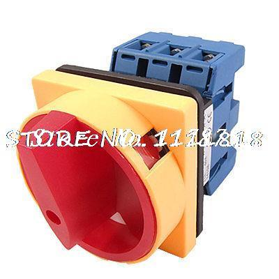 AC 380V DC 220V 63A On Off 2 Position Universal Combination Switch GLD11 Series