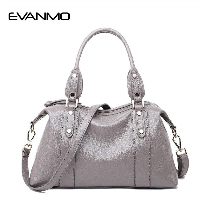 Первый слои из кожаные сумочки Высокое качество тенденции моды бостон плеча курьерские сумки пояса натуральной кожи мягкая сумка Bolsa
