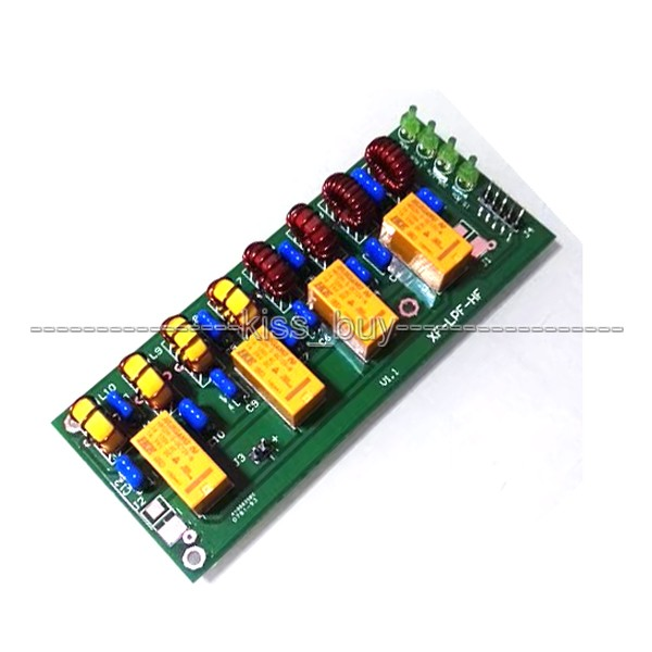 12v 100W HF low pass LPF unit  DIY KIT  3.5Mhz-30Mhz