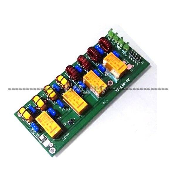 Gemonteerd dc 12 v 100 w 3.5 mhz 30 mhz HF eindversterker laagdoorlaatfilter