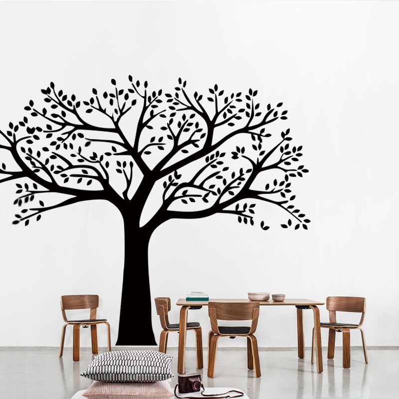 Zn marca familia árbol tatuajes de pared foto de gran tamaño Marcos ...