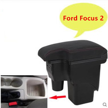 For Ford Focus 2 armrest box central Store mk2 content box products font b interior b