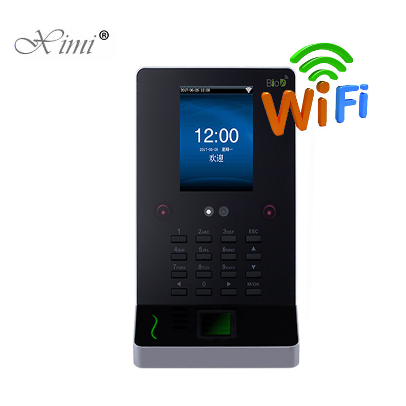 ZK UF600 Face Recognition Time Attendance And Access Control WIFI USB Facial And Fingerprint Employee Attendance Time Clock