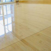 Creative PVC Floor Mat Transparent Carpets Wooden Floor Protection Rugs Chair Floor Mats Carpet Rugs Waterproof Rug Decor 1.0mm