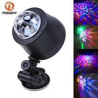 Car LED Interior Light Auto DJ Disco Flash Lamp Colorful 3 LED 6 LED Disco DJ