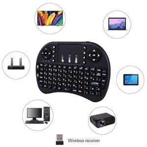 Image 4 - Touyinger חדש הגעה מיני i8 מקלדת אוויר עכבר מולטימדיה מרחוק Touchpad כף יד עבור מקרני אנדרואיד וטלוויזיה חכמה