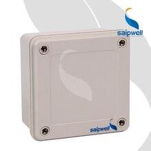 120*120*60mm  IP67 ABS Junction Box / Screw Open-Close Type  Waterproof  Enclosure   (SP-02-121260)