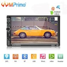 AMPrime Android автомобильный Радио 2 DIN Авторадио gps Навигации 2din Автомобильный мультимедийный плеер BT FM Mirrorlink стерео аудио 8802