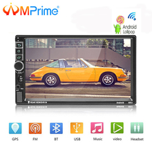 AMPrime Android Autoradio 2 Din Autoradio GPS di Navigazione 2din Universale Car Multimedia Player BT FM Mirrorlink Stereo Audio 8802