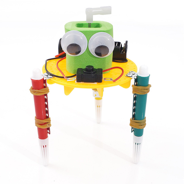 DIY-STEM-Toys-for-Children-Physical-Scientific-Experiment-Creativity-Learning-Educational-Toy-Kit-Graffiti-Robot-Birthday