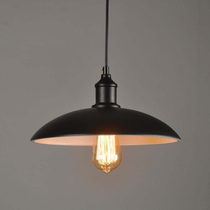 E27 Loft Rétro Pot Lustre Industriel Fer Vintage plafonnier Lustre Pendentif Lampe Luminaire