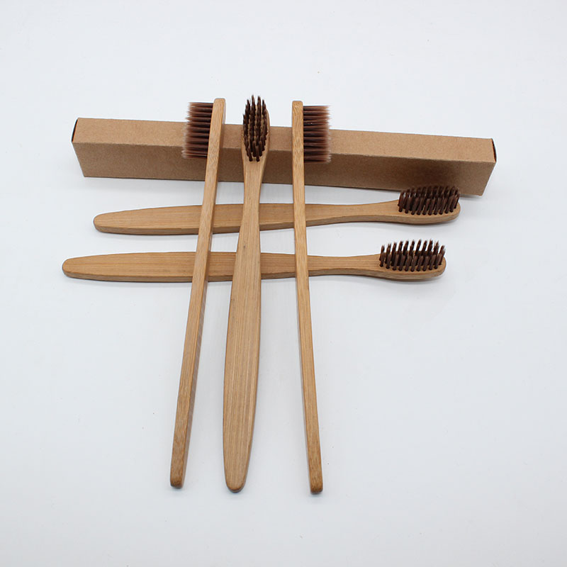 10 Pieces/ Bamboo Toothbrush