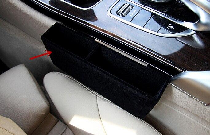 Accessoires pour Mercedes Benz classe C W205 2014 2015 intérieur avant Central boîte de rangement décoratif couvercle garniture 1 pièces