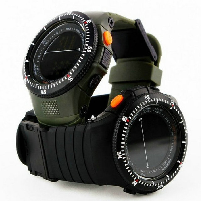 Markdown sale High Quality China Digital Movt With Waterproof Student Outdoor rubber strap Children Boys Girl Military Watches