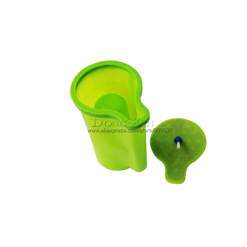 Tools : Conical Mug Silicone Mold With Handle  For ST-1520 3D Mini Sublimation Transfer Machine