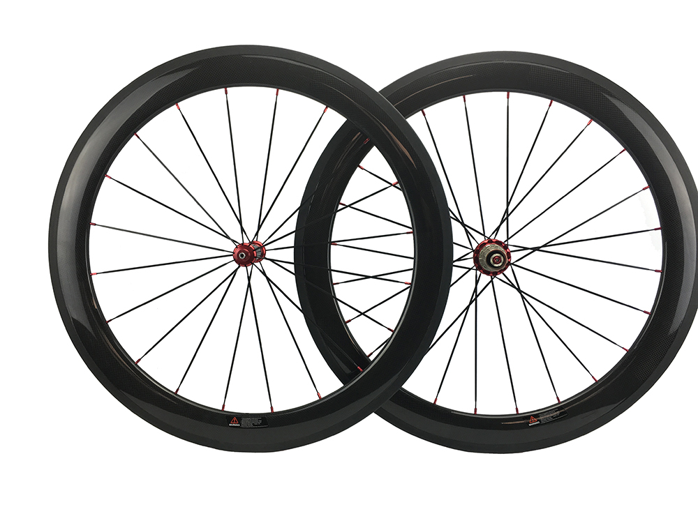 Carbon Wheels 50mm Clincher 25mm Wide Full Carbon Bike Wheelset 700c Road Carbon Bicycle Wheel Straight