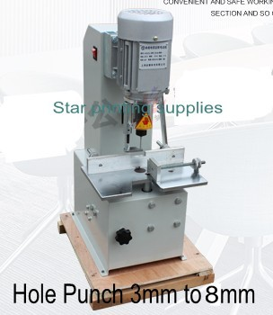 Electric paper hole punch machine, paper binding machine Single hole drilling for tags, menu, receipt t30 paper drilling machine manual hand hole punch paper machine single hole thickness 35mm manual single hole drilling machine