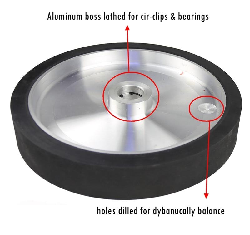 rubber contact wheel 300