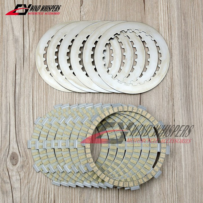 8XPCS Motorcycle Friction Clutch plates disc For Benelli BN600 TNT600 Stels 600 Keeway TNT 600 GT