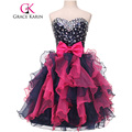 Grace Karin Prom Dresses Ball Gowns Organza Sequin Short Sexy Sweetheart Back to School Prom Dress Special Occasion Dresses