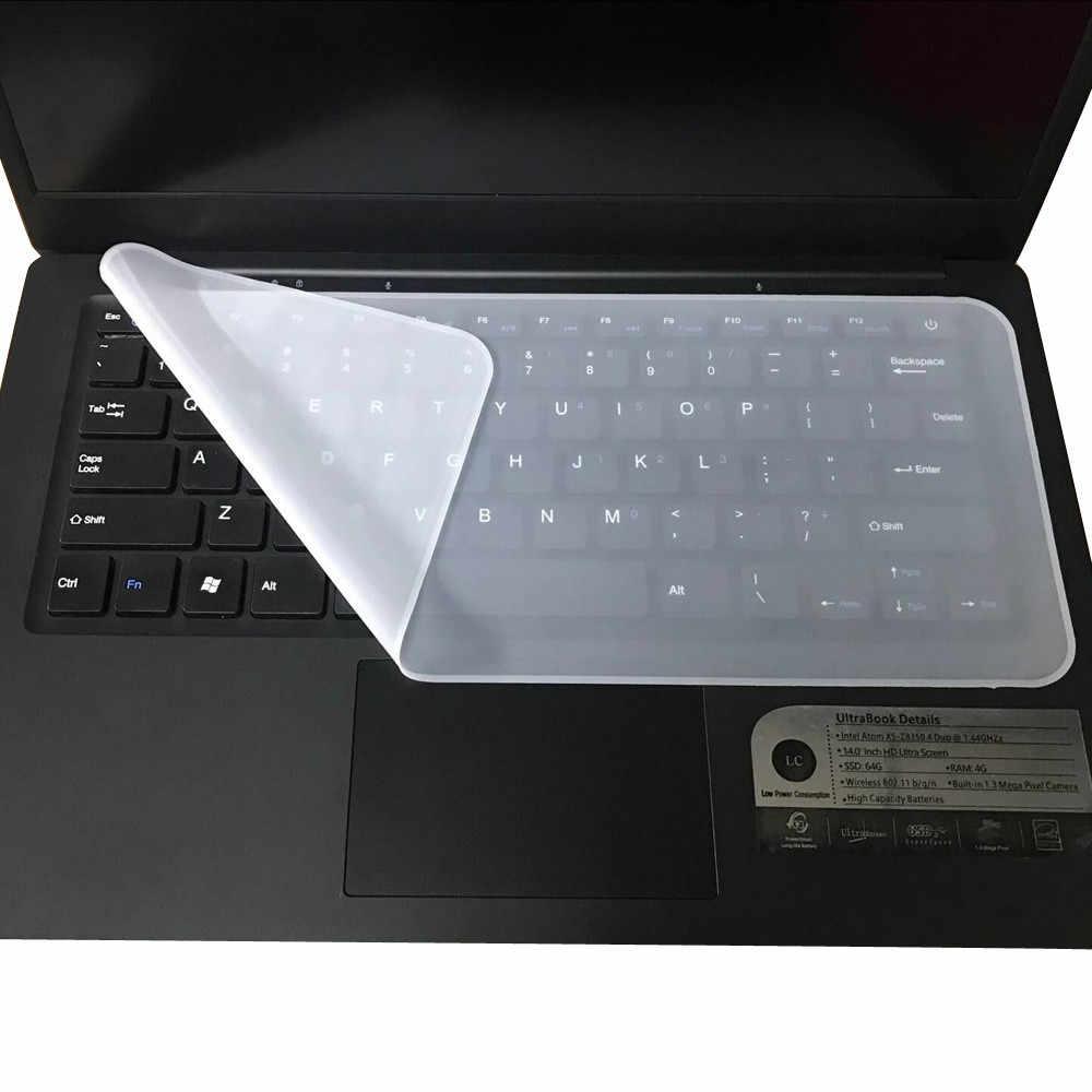 Funda protectora Universal de teclado de silicona para ordenadores portátiles 13-14,1 fundas de teclado para asus rog para macbook