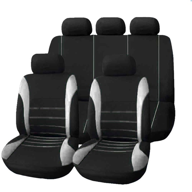 2016 Universal Car Seat Cover 9 Set Full Seat Covers for Crossovers Sedans Auto Interior Styling Decoration Protect High Quality universal 13 pcs car seat covers set sponge pu car styling interior auto accessories automotive car covers for car care ts15