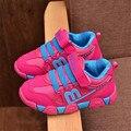 2017 nuevo estilo marca niños shoes, niños zapatillas de deporte, girls sport shoes, niños casual shoes calzado al aire libre regalo para los niños