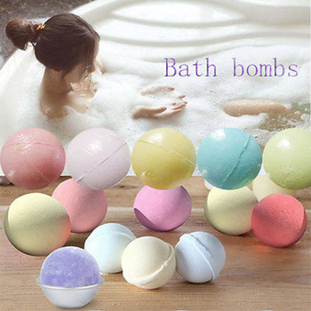 1pcs Essential Oil Bath Bombs Body Scrub Whitening Moisture Bath Fizzies 40g