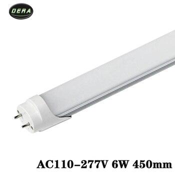 T8 1.5ft 6 w Led rohr AC85-265v led glühbirne SMD2835 wand licht kühl warm weiß wohnzimmer 450 MM led-leuchten für hause
