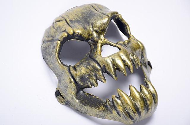 Adult skeleton face