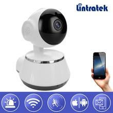 hot deal buy lintratek wifi video surveillance ip camera 720p hd mini wi-fi ptz  onvif 2.0 wireless home camera baby monitor