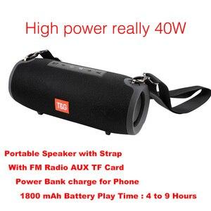 40W Bluetooth Speaker Portable