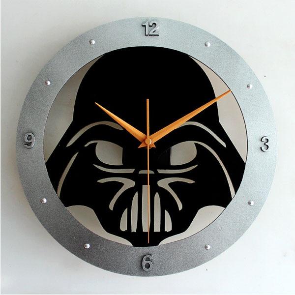 Creative Star Wars Large Decorative Wall Clock Modern
