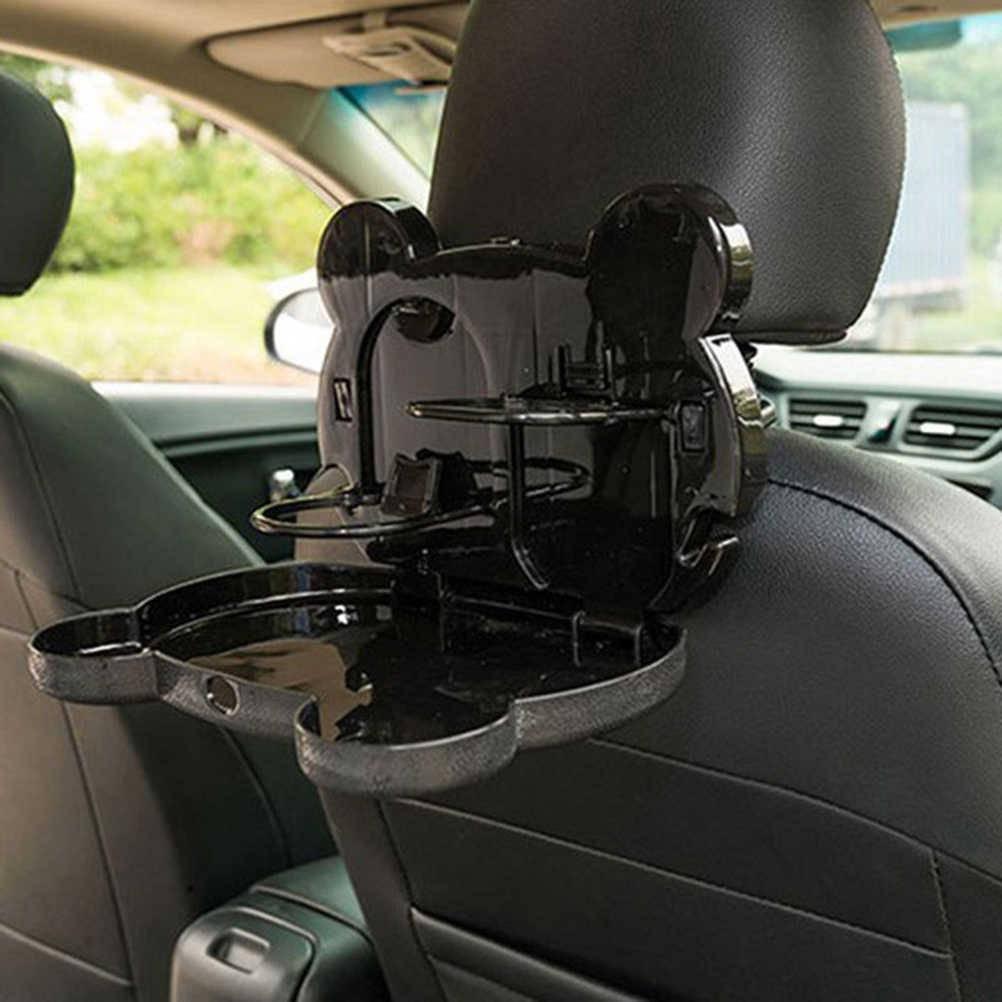 Автомобильный Органайзер на заднее сиденье, автомобильный обеденный стол, складной Автомобильный держатель для планшета