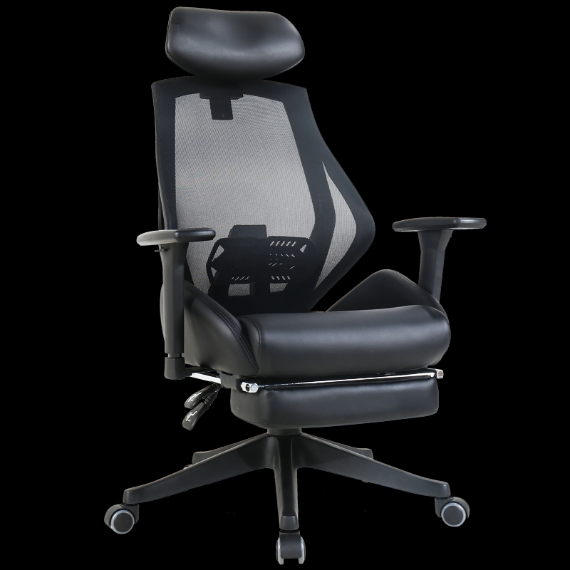 Ergonomic Reclining Office Boss Chair With Footrest Multi-function Lifted Rotated Computer Chair Protect Waist Gaming Chair