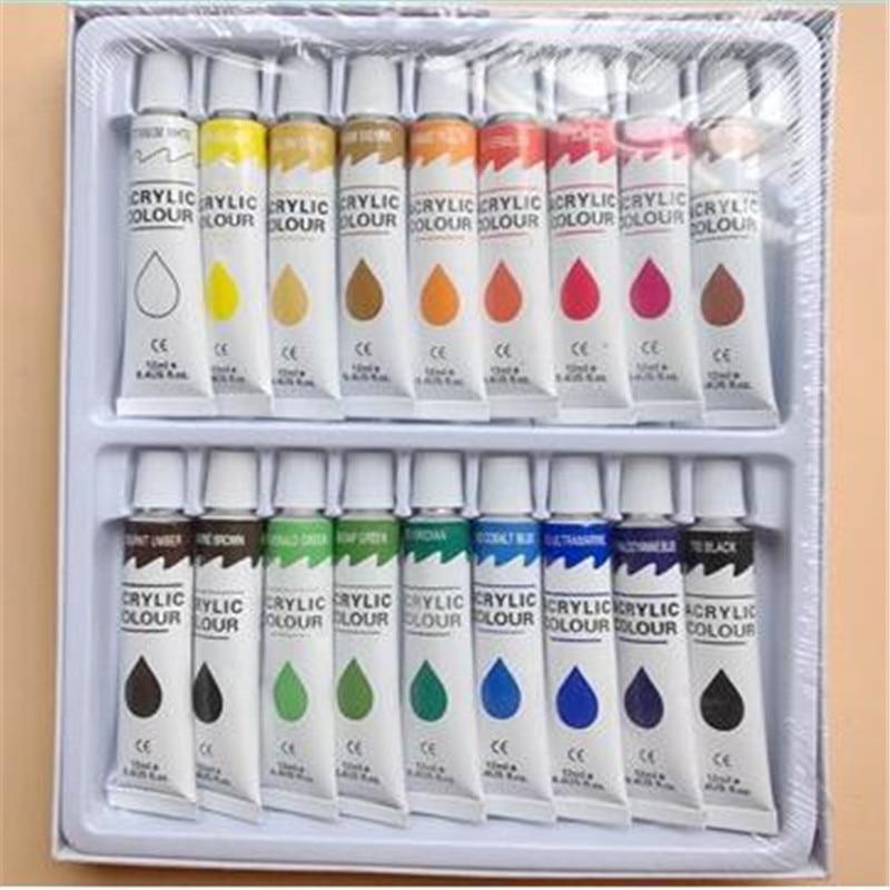 18 colors/ 12 colors set Leather paint acrylic paint Leather carving paint color painting свитшот print bar paint color