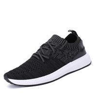 Spring Summer Men Walking Shoes Luxury Brand Breathable Mens Popular Sneakers Black Gray Athletic Trainers Barefoot